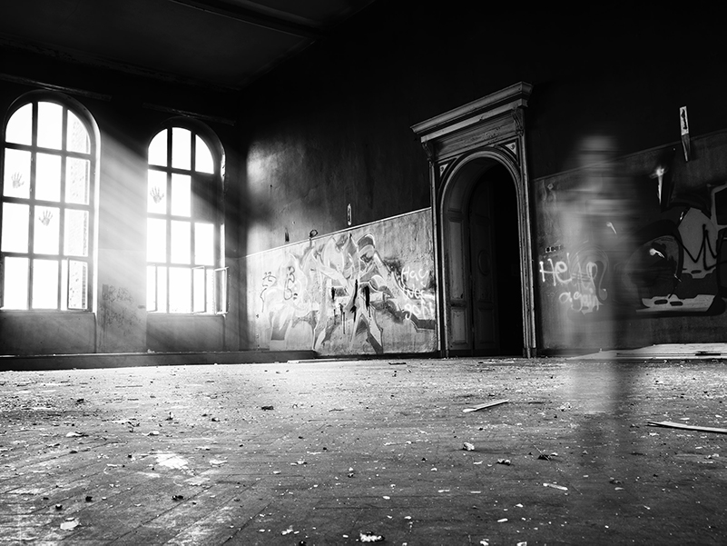 Haunted House with spirit